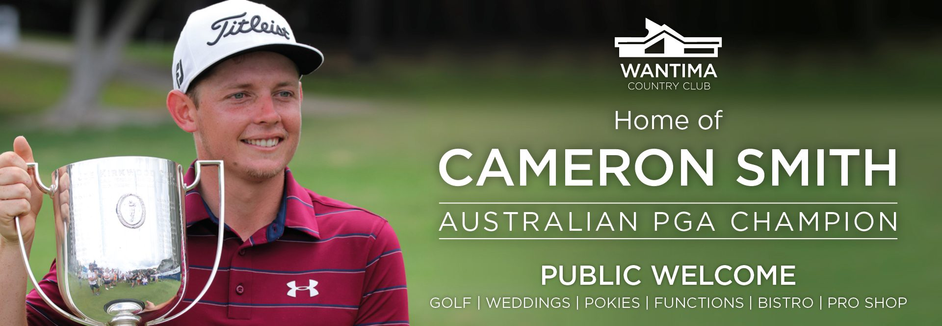 Cam Smith AUS PGA Champion